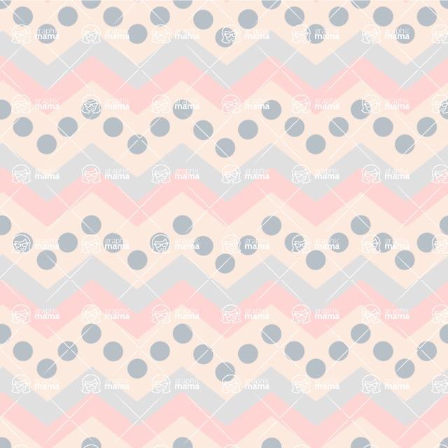 Seamless Pattern Designs Mega Bundle - Chevron Pattern 43