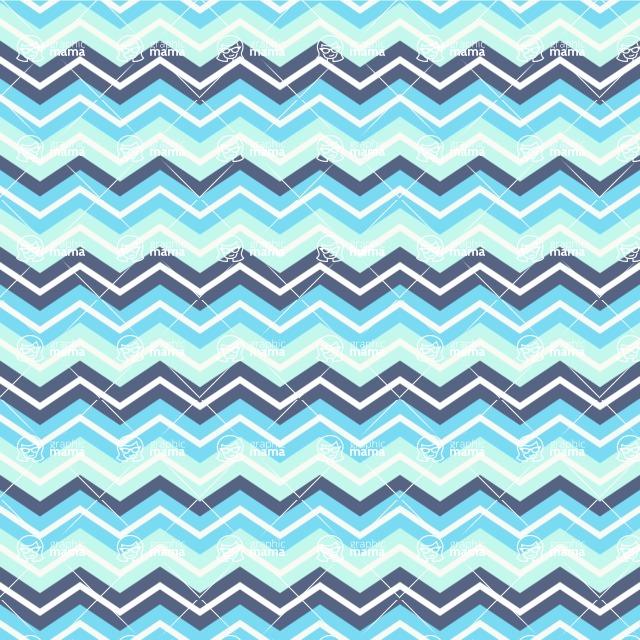 Seamless Pattern Designs Mega Bundle - Chevron Pattern 44