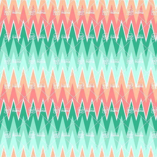 Seamless Pattern Designs Mega Bundle - Chevron Pattern 45