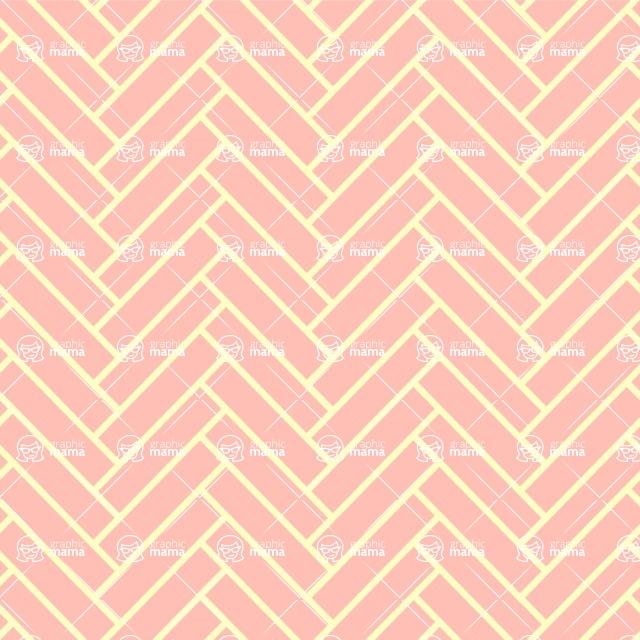 Seamless Pattern Designs Mega Bundle - Chevron Pattern 46