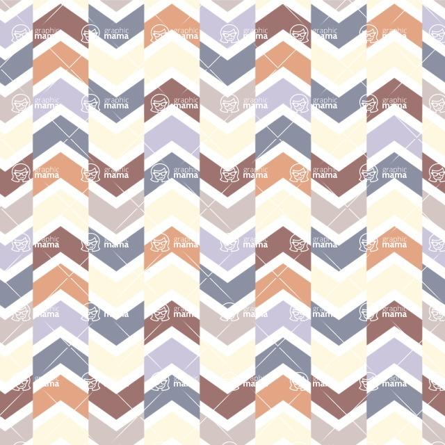 Seamless Pattern Designs Mega Bundle - Chevron Pattern 48