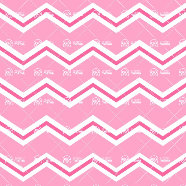 Seamless Pattern Designs Mega Bundle - Chevron Pattern 58