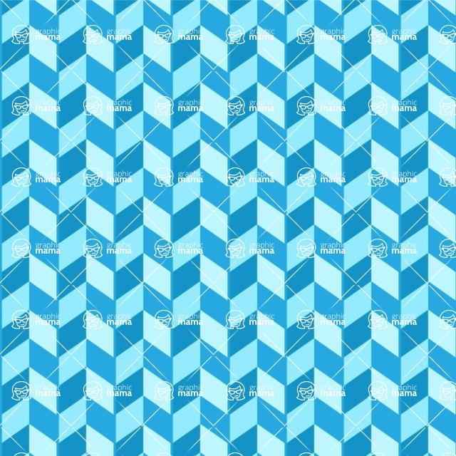 Seamless Pattern Designs Mega Bundle - Chevron Pattern 62