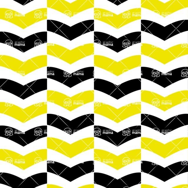 Seamless Pattern Designs Mega Bundle - Chevron Pattern 65