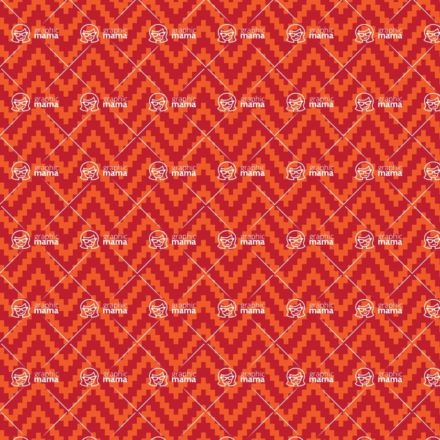Seamless Pattern Designs Mega Bundle - Chevron Pattern 76