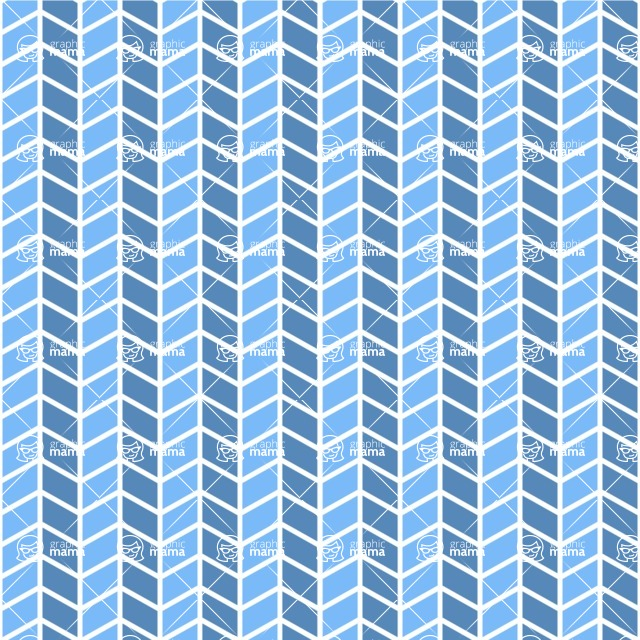 Seamless Pattern Designs Mega Bundle - Chevron Pattern 80