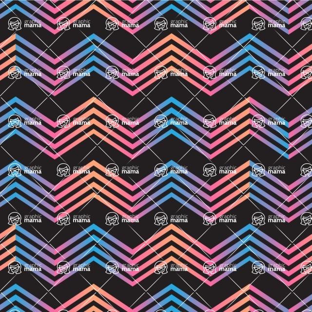 Seamless Pattern Designs Mega Bundle - Chevron Pattern 81