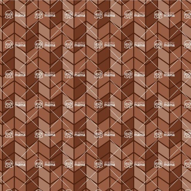 Seamless Pattern Designs Mega Bundle - Chevron Pattern 83