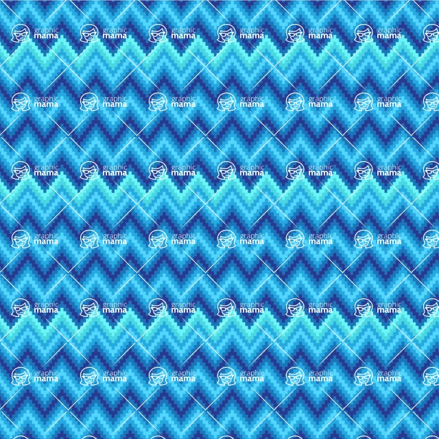 Seamless Pattern Designs Mega Bundle - Chevron Pattern 93