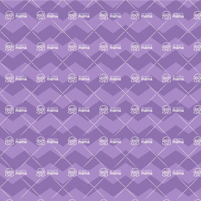 Seamless Pattern Designs Mega Bundle - Chevron Pattern 96
