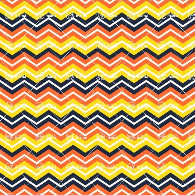 Seamless Pattern Designs Mega Bundle - Chevron Pattern 98