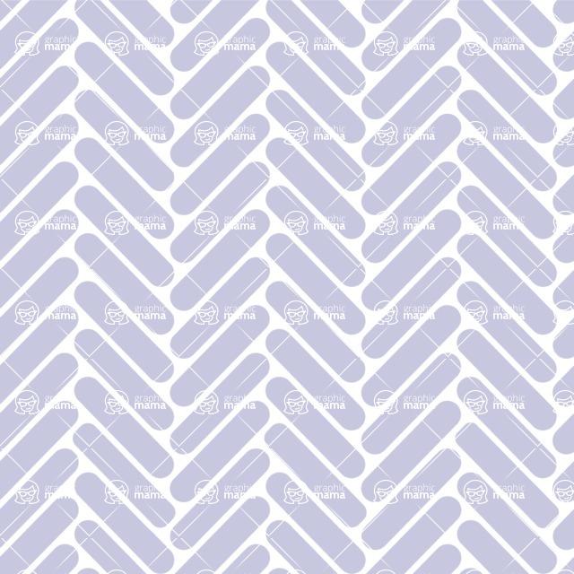Seamless Pattern Designs Mega Bundle - Chevron Pattern 101