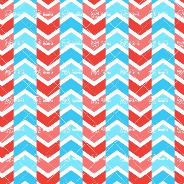 Seamless Pattern Designs Mega Bundle - Chevron Pattern 102