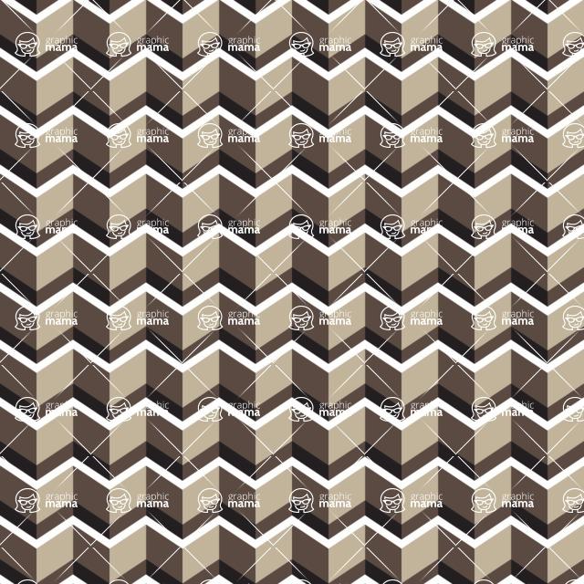 Seamless Pattern Designs Mega Bundle - Chevron Pattern 109