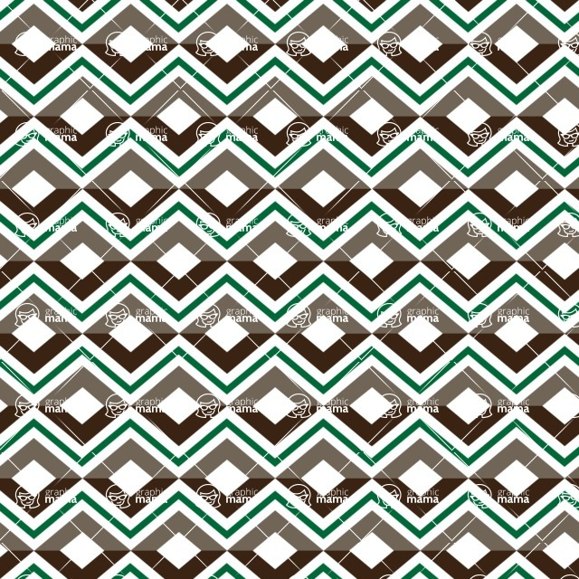 Seamless Pattern Designs Mega Bundle - Chevron Pattern 123