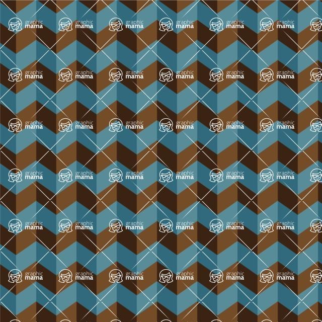 Seamless Pattern Designs Mega Bundle - Chevron Pattern 133