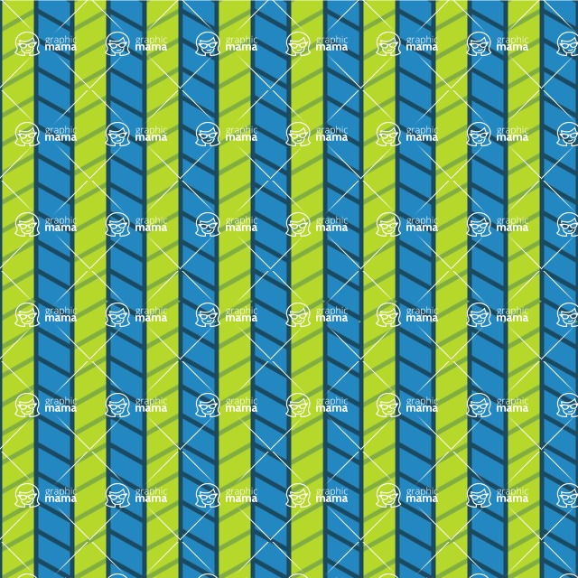 Seamless Pattern Designs Mega Bundle - Chevron Pattern 134