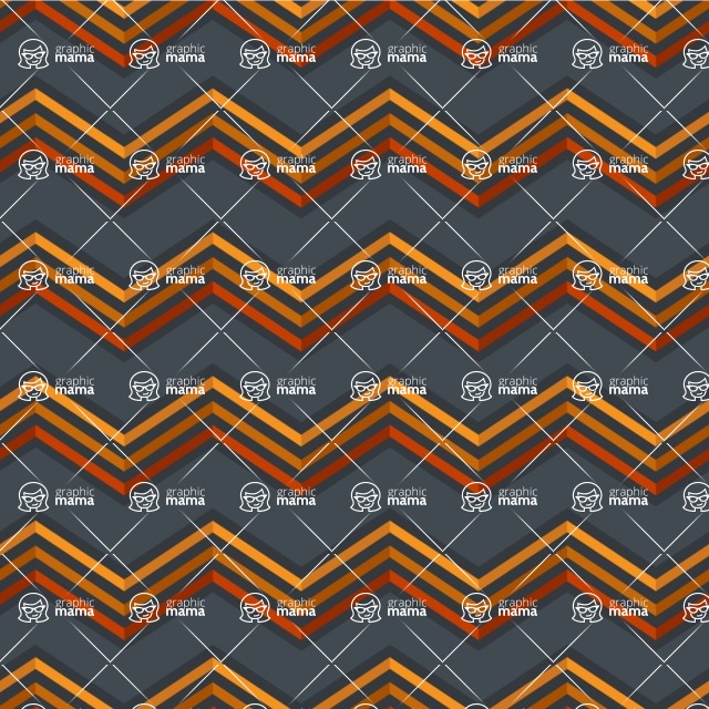 Seamless Pattern Designs Mega Bundle - Chevron Pattern 135