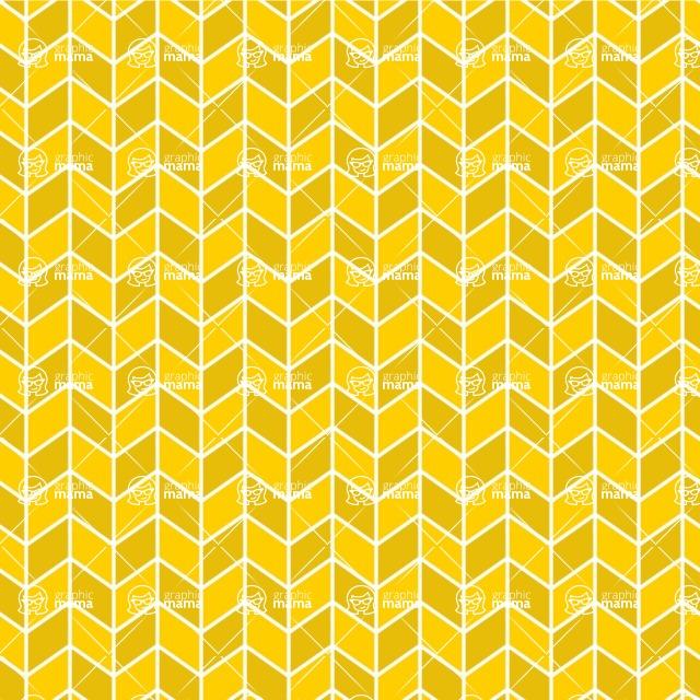 Seamless Pattern Designs Mega Bundle - Chevron Pattern 138