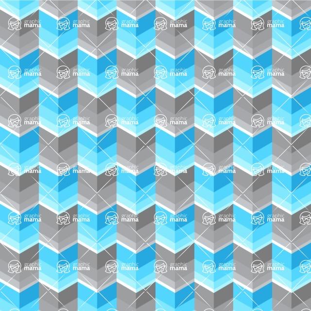Seamless Pattern Designs Mega Bundle - Chevron Pattern 139