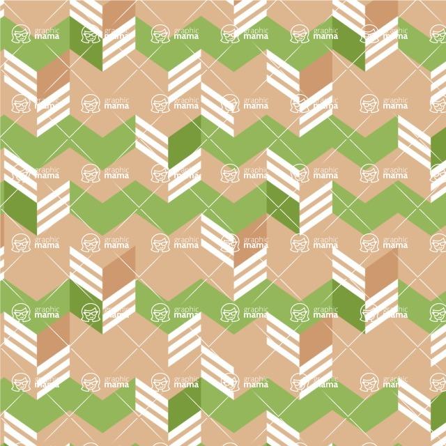 Seamless Pattern Designs Mega Bundle - Chevron Pattern 141