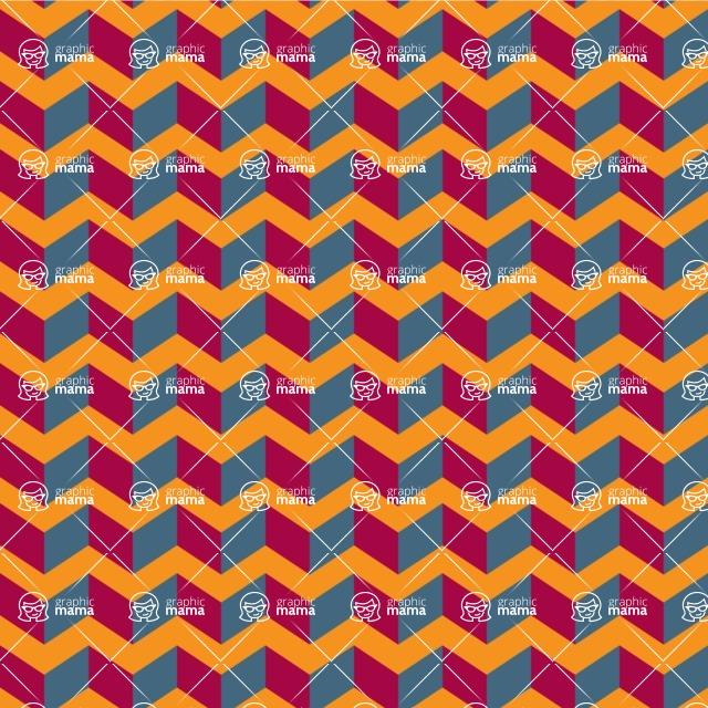 Seamless Pattern Designs Mega Bundle - Chevron Pattern 144