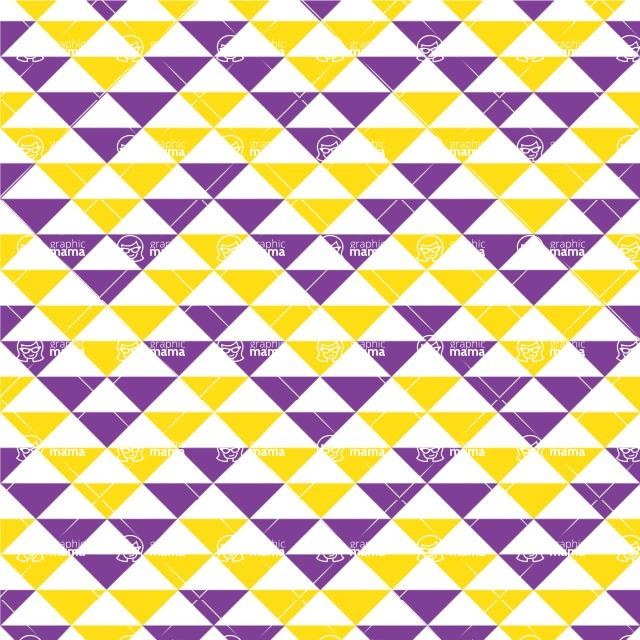 Seamless Pattern Designs Mega Bundle - Chevron Pattern 146