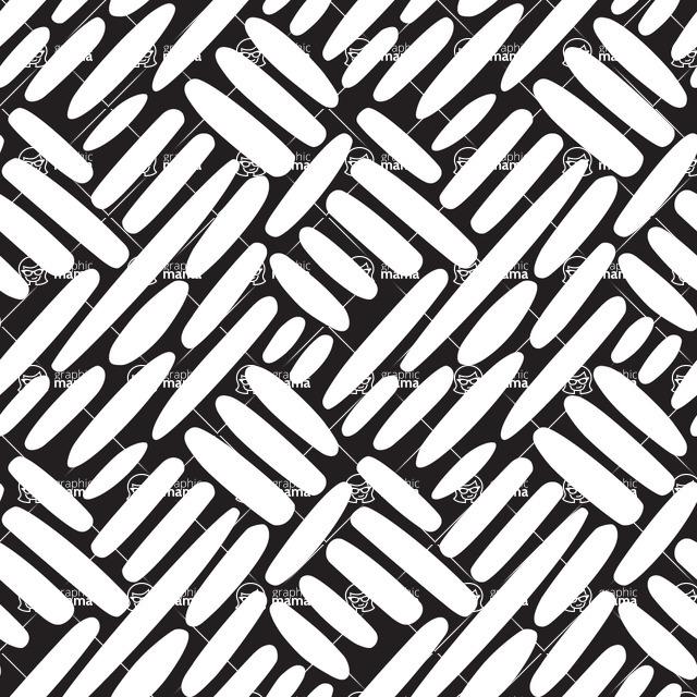 Seamless Pattern Designs Mega Bundle - Hand-drawn Pattern 4