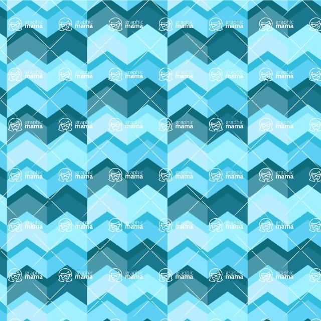 Seamless Pattern Designs Mega Bundle - Chevron Pattern 149