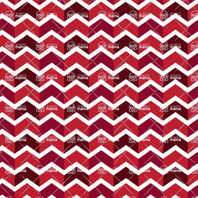 Seamless Pattern Designs Mega Bundle - Chevron Pattern 156