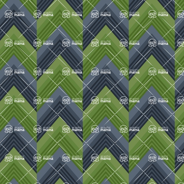 Seamless Pattern Designs Mega Bundle - Chevron Pattern 160