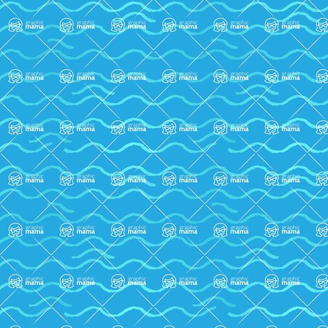 Seamless Pattern Designs Mega Bundle - Hand-drawn Pattern 44