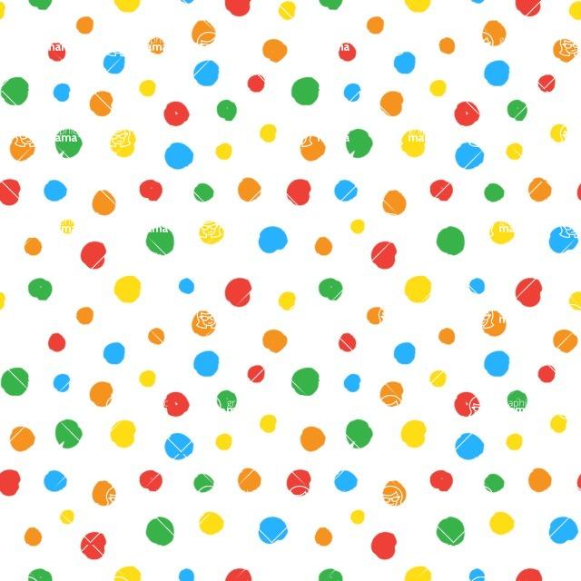 Seamless Pattern Designs Mega Bundle - Hand-drawn Pattern 46
