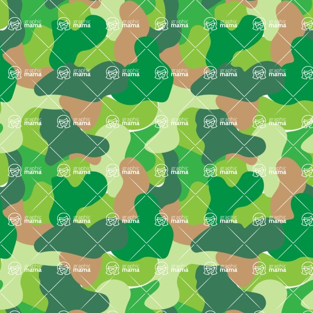 Seamless Pattern Designs Mega Bundle - Memphis Pattern 47