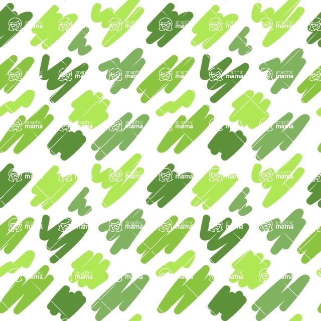 Seamless Pattern Designs Mega Bundle - Memphis Pattern 49
