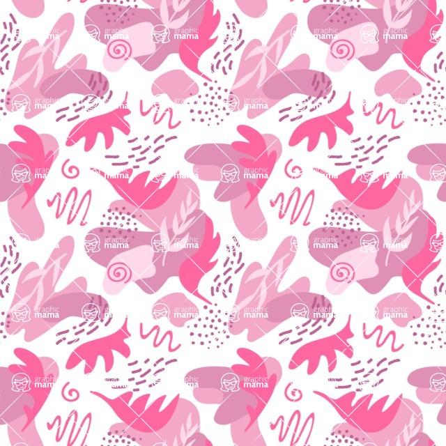 Seamless Pattern Designs Mega Bundle - Memphis Pattern 50