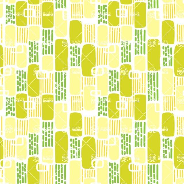 Seamless Pattern Designs Mega Bundle - Memphis Pattern 54
