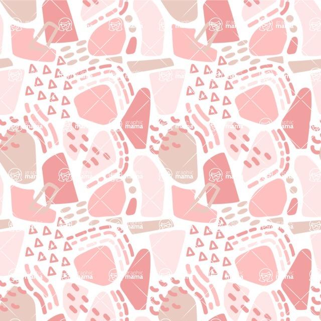 Seamless Pattern Designs Mega Bundle - Memphis Pattern 56