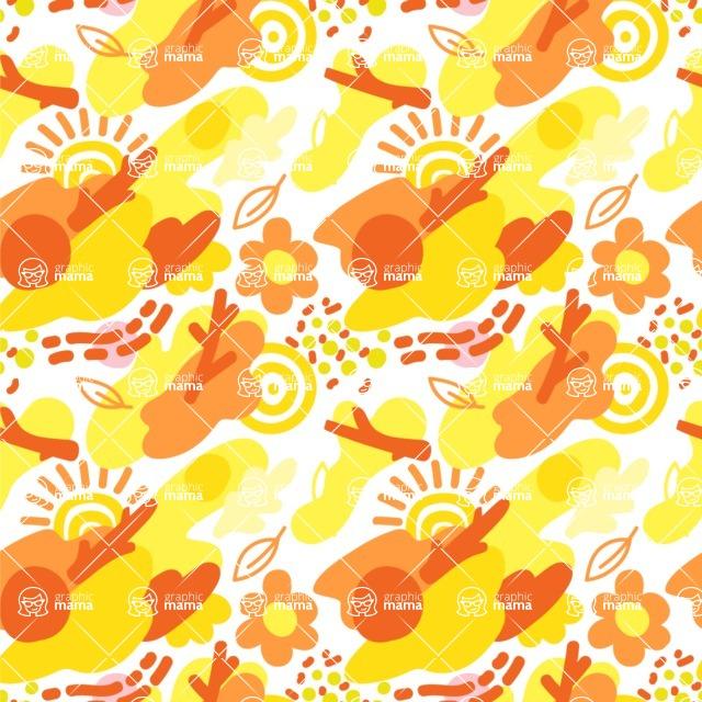 Seamless Pattern Designs Mega Bundle - Memphis Pattern 59