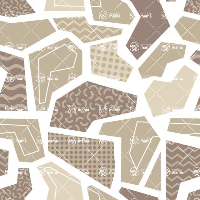 Seamless Pattern Designs Mega Bundle - Memphis Pattern 64