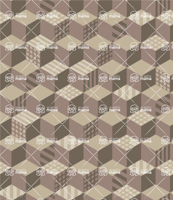 Seamless Pattern Designs Mega Bundle - Memphis Pattern 72