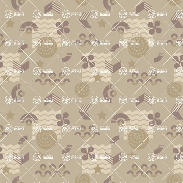 Seamless Pattern Designs Mega Bundle - Memphis Pattern 94