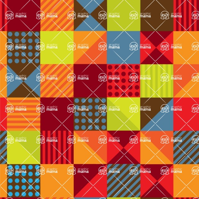 Seamless Pattern Designs Mega Bundle - Memphis Pattern 101