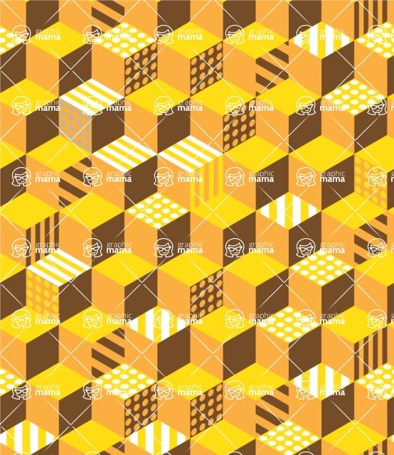 Seamless Pattern Designs Mega Bundle - Memphis Pattern 108