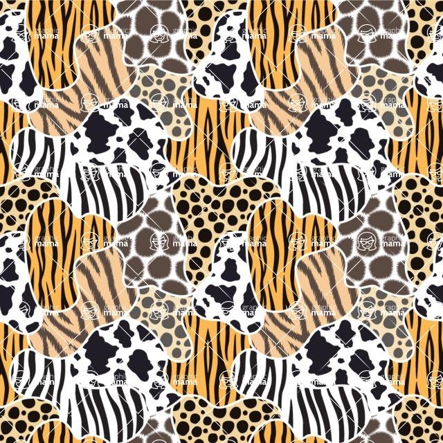 Seamless Pattern Designs Mega Bundle - Animal Pattern 10