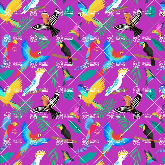 Seamless Pattern Designs Mega Bundle - Animal Pattern 33