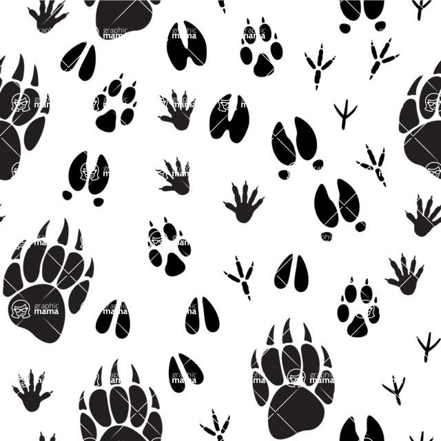 Seamless Pattern Designs Mega Bundle - Animal Pattern 40