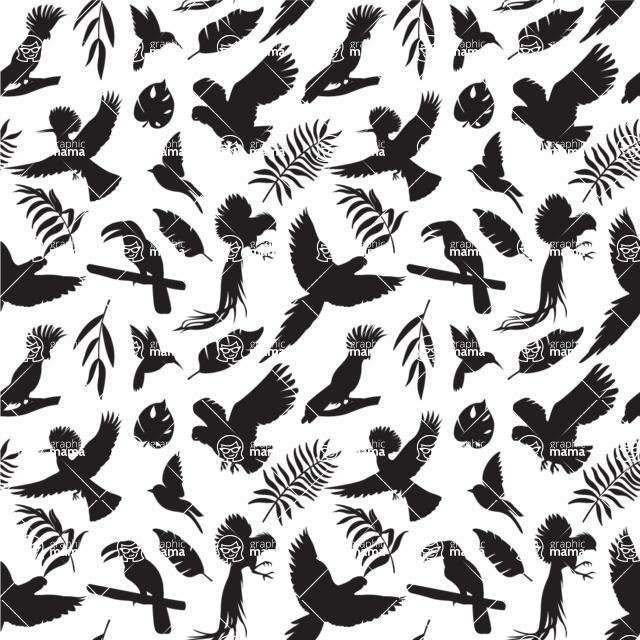 Seamless Pattern Designs Mega Bundle - Animal Pattern 41