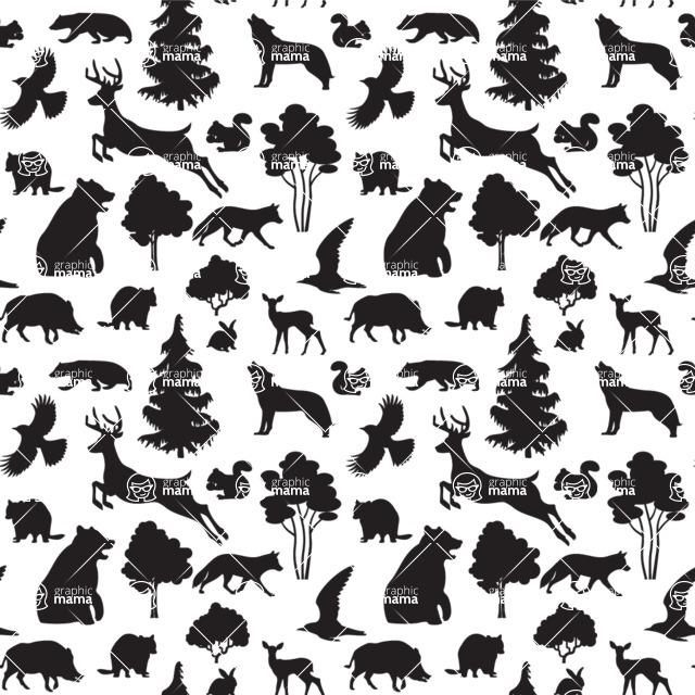 Seamless Pattern Designs Mega Bundle - Animal Pattern 45