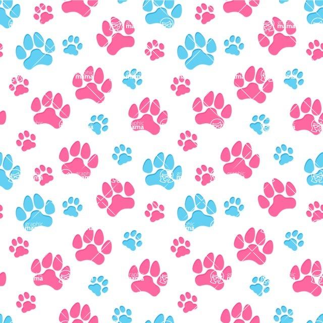Seamless Pattern Designs Mega Bundle - Animal Pattern 87